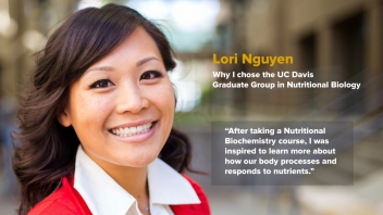 "Lori Nguyen - Why I chose GGNB - ""After taking a Nutritional Biochemistry course, I was inspired to learn more about how our body processes and responds to nutrients"""