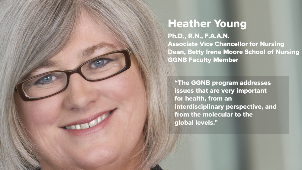 "Heather Young - Why I chose GGNB - ""The GGNB program addresses issues that are very important for health, from an interdisciplinary perspective, and from the molecular to the global levels."""