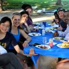GGNB students and faculty at spring picnic